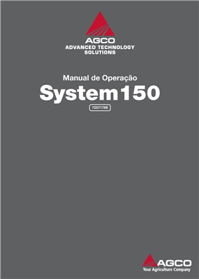 Manual do operador System 110/150
